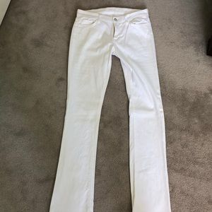 White 7 for all Mankind Jeans *worn once*